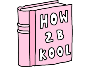 book, cool, and pink image