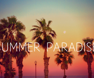 summer, paradise, and sun image