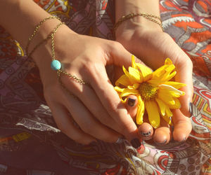 arm candy, bohemian, and fashion image