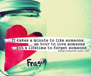 quote, love, and fragile image