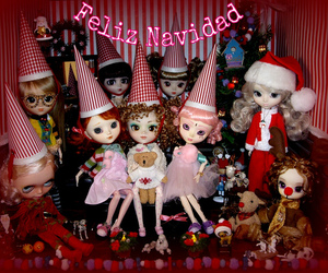 doll, dolls, and rudolph image