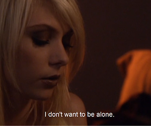 alone, Taylor Momsen, and gossip girl image