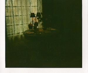 dark, polaroid, and window image