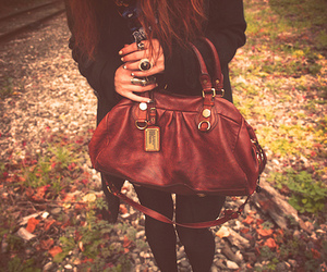 bag, girl, and photography image