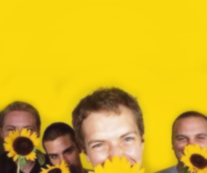 coldplay and sunflowers image