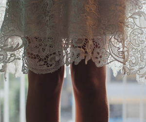 crochet, dress, and photography image