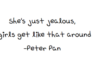 peter pan and text image