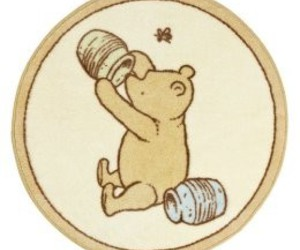classic, pooh, and rug image