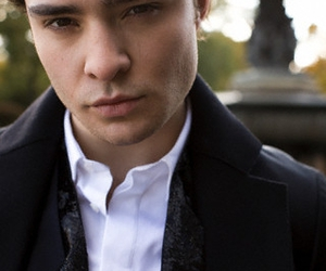 chuck bass, ed westwick, and men image