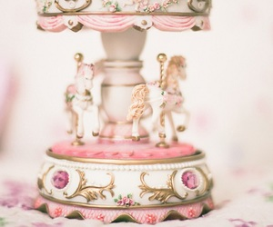 pink, vintage, and girly image