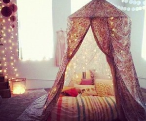 bed, cool, and sparkle image