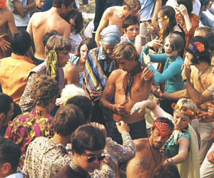 beautiful, hippie, and hippies image