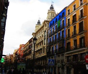 azzurro, colors, and street image