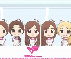flower power, snsd, and japan image