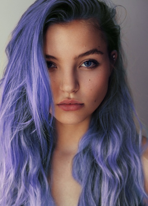 100 Colored Hair Tumblr On We Heart It