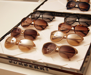 fashion, sunglasses, and Burberry image
