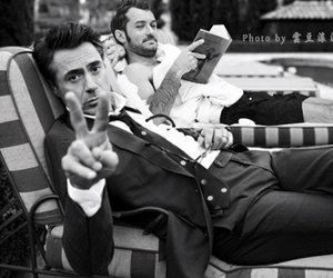 robert downey jr and jude law image
