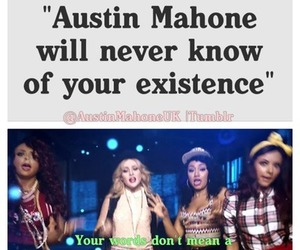 mahomies, austin mahone, and never know you exist image