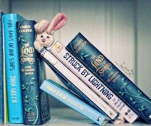 book, john green, and chris colfer image