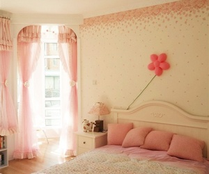 pastel, bedroom, and pink image