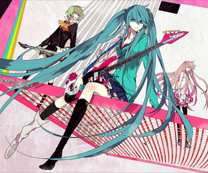 vocaloid, gumi, and anime image
