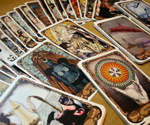 cards, colorful, and tarot image