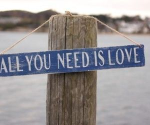 love, quotes, and all you need is love image