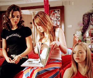 mean girls, girls, and lindsay lohan image