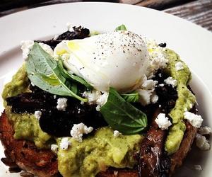 avocado, food, and plate image