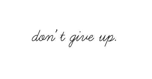 I wont give up on us. | via Tumblr on We Heart It