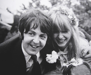 Paul McCartney, jane asher, and couple image