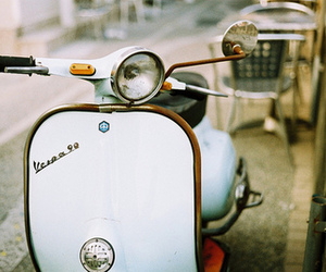 Vespa, vintage, and photography image