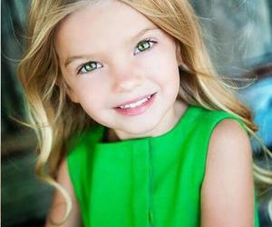 adorable, child, and green eyes image