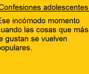 chicas, confesiones adolescentes, and love image