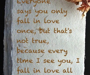 fall in love, love quotes, and quotes image