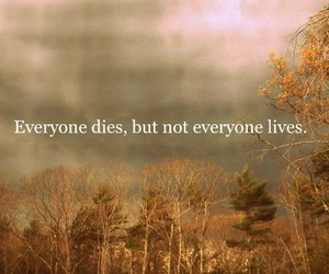 quote, die, and life image