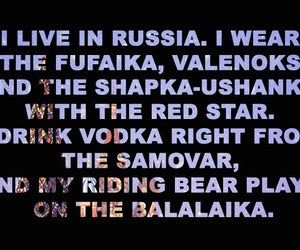 russia and vodka image