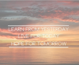 live, hope, and learn image