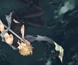 cloud strife, fanart, and ff7 image