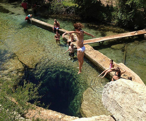 summer, Texas, and water image
