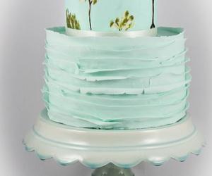 cake, vintage, and wedding image