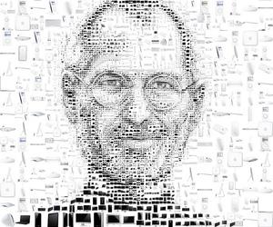 Steve Jobs and illustration image