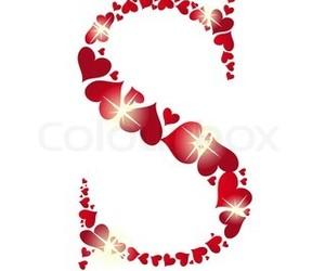 heart, Letter, and s image