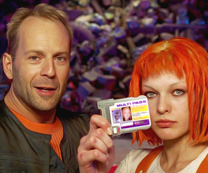 the fifth element, bruce willis, and movie image