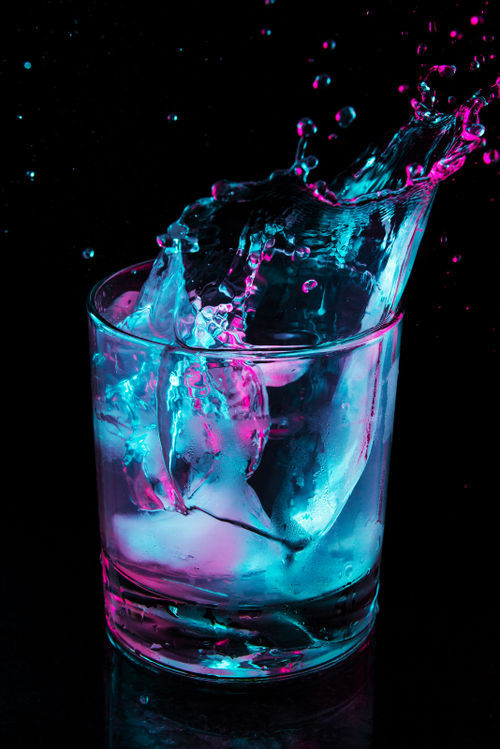Drink Colored Water