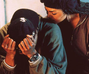 2pac, janet jackson, and poetic justice image
