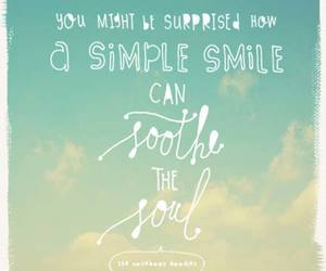 smile, quote, and soul image