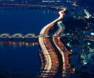 korea and han river image