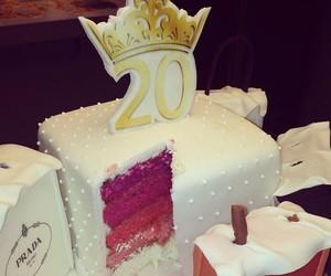 cake, 20, and birthday image