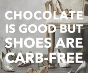 chocolate and shoes image